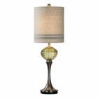 Uttermost Ivalyn Emerald Green Glass Lamp