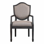 Uttermost Jenkins Shield Back Armchair