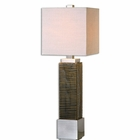 Uttermost Jernigan Bronze Glass Table Lamp