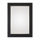 Uttermost Kaira Textured Black Mirror