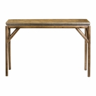 Uttermost Kanti Metallic Champagne Console Table