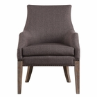 Uttermost Karson Caramel Tan Accent Chair