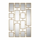 Uttermost Kennon Forged Gold Rectangles Mirror