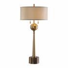 Uttermost Kensett Antique Bronze Lamp