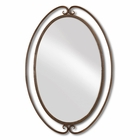 Uttermost Kilmer Wrought Iron Mirror