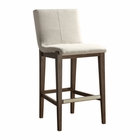 Uttermost Klemens Linen Bar Stool