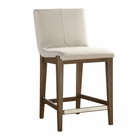 Uttermost Klemens Linen Counter Stool