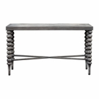 Uttermost Kunja Gray Console Table