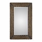 Uttermost Kurupa Twisted Bronze Mirror