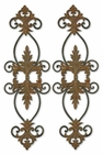 Uttermost Lacole Rustic Metal Wall Art Set of 2