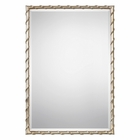 Uttermost Laden Silver Mirror