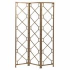 Uttermost Lakaya Gold 3 Panel Screen