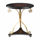 Uttermost Lanzo Walnut Accent Table