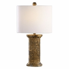 Uttermost Latina Antiqued Gold Lamp