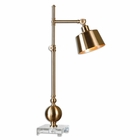 Uttermost Laton Brushed Brass Task Lamp