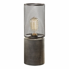 Uttermost Ledro Thick Concrete Lamp