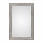 Uttermost Leiston Metallic Silver Mirror
