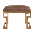 Uttermost Lennon Small Leather Bench