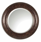 Uttermost Leonzio Leather Mirror