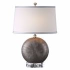 Uttermost Liadan Ceramic Orb Table Lamp