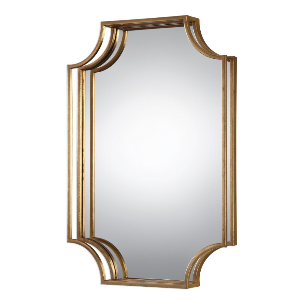 Vivian Wall Mirror By Uttermost: Uttermost Lindee Gold Wall Mirror