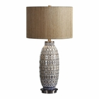 Uttermost Lokni Aged Ivory Table Lamp