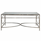 Uttermost Luano Silver Coffee Table
