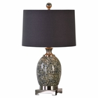 Uttermost Madon Crackled Glass Table Lamp
