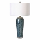 Uttermost Maira Blue Ceramic Table Lamp