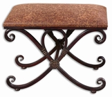 Uttermost Manoj Distressed Small Bench
