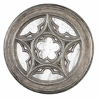 Uttermost Marwin Round Window Mirror
