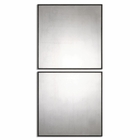 Uttermost Matty Antiqued Square Mirrors set of 2