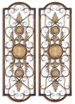 Uttermost Micayla Antique Metal Panels Set of 2