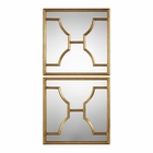 Uttermost Misa Gold Square Mirrors set of 2