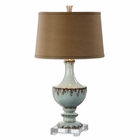 Uttermost Molara Aged Blue Table Lamp