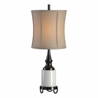 Uttermost Molveno Ivory Marble Table Lamp
