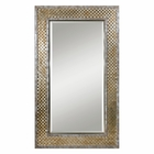 Uttermost Mondego Woven Nickel Mirror