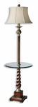Uttermost Myron Twist End Table Floor Lamp