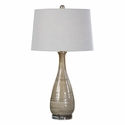Uttermost Nakoda Embossed Ceramic Lamp