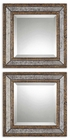 Uttermost Norlina Squares Antique Mirror set of 2