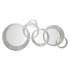Uttermost Odiana Silver Rings Modern Mirror