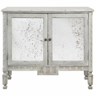 Uttermost Okorie Gray Console Cabinet