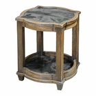 Uttermost Olani Weather Oak Accent Table
