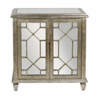 Uttermost Panaro Golden Bronze Accent Cabinet