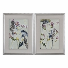 Uttermost Parchment Flower Field Prints, Set Of 2