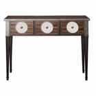 Uttermost Patten Distressed Walnut Console Table
