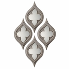 Uttermost Pernilla Quatrefoil Mirrors set of 2