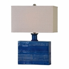 Uttermost Piota Blue Table Lamp