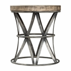 Uttermost Ranier Industrial Accent Stool