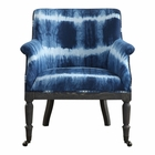 Uttermost Royal Cobalt Blue Accent Chair